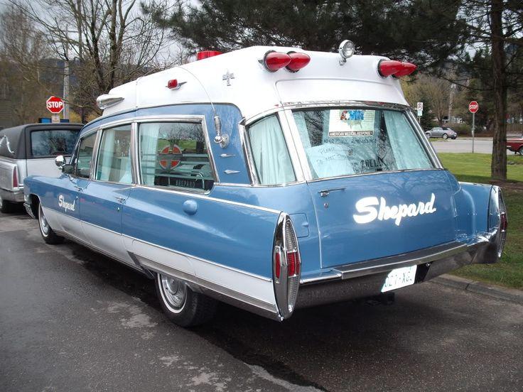 1 1968 Cadillac Ambulance Wheels And Ways Pinterest