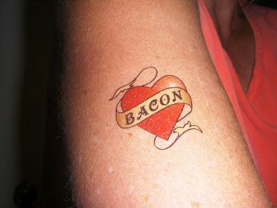 BACON TATTOO  Tattoos Pinterest