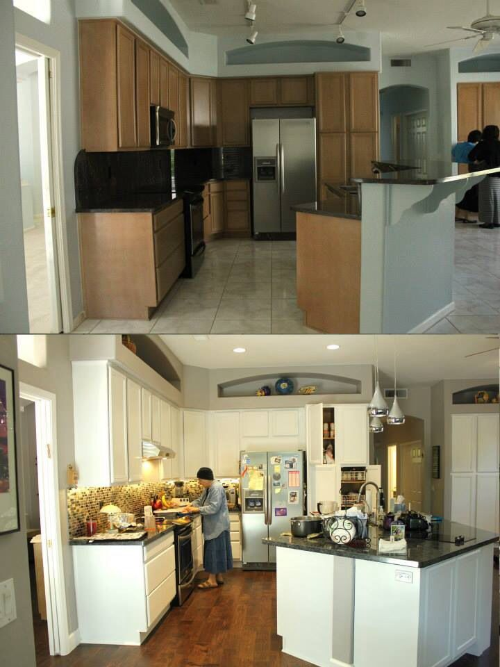 Kitchen remodel before and after kitchen remodel pinterest - Kitchen remodel before after ...