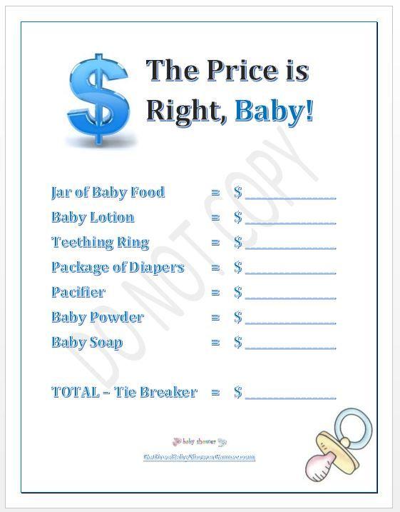 baby shower game idea baby shower pinterest