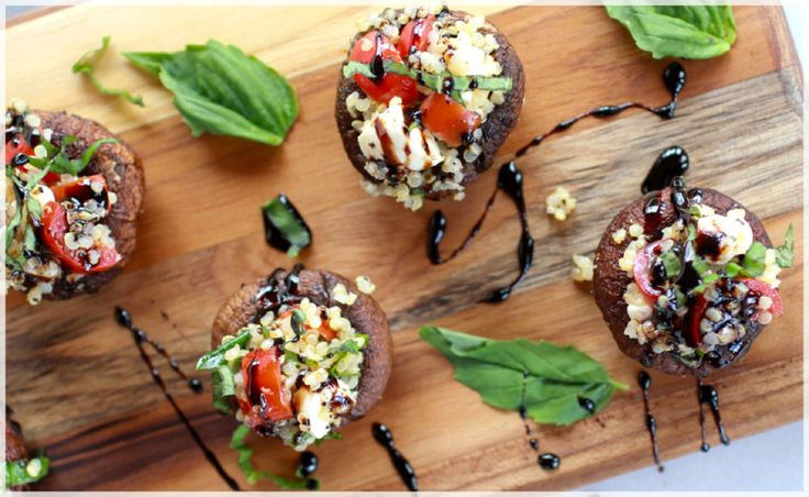 The classic Caprese salad features layers of mozzarella cheese, basil, and tomatoes drizzled with olive oil or a balsamic glaze. However, these Caprese Quinoa Grilled...