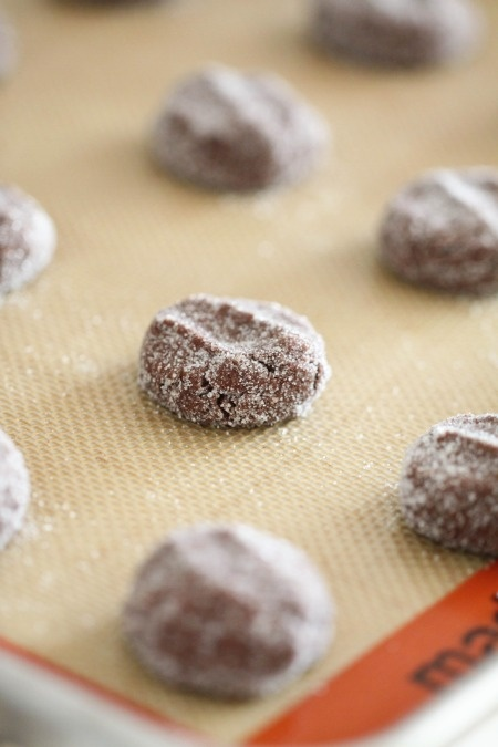 Chewy Chocolate Ginger Snap Cookies