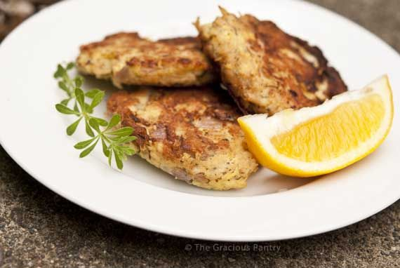 Clean Eating Tuna Patties | Recipe