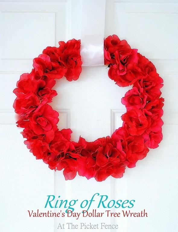 valentine's day wreaths to make