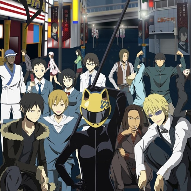 Durarara Characters Durarara charactersDurarara Characters