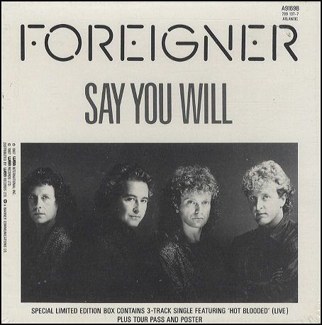 foreigner single