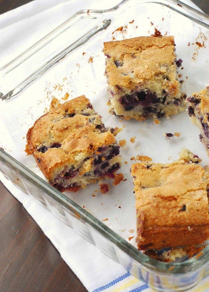 Buttermilk Blueberry Breakfast Cake | Desserts & Treats | Pinterest
