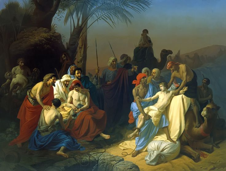 Joseph sold into slavery | Interesting people in the Bible ...