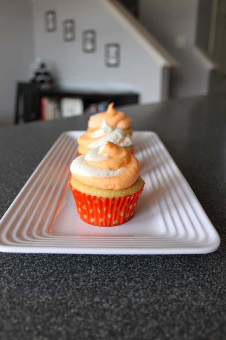 Creamsicle Cupcakes | Cakes..Cookies..Desserts | Pinterest
