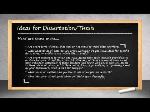 mba dissertation methodology
