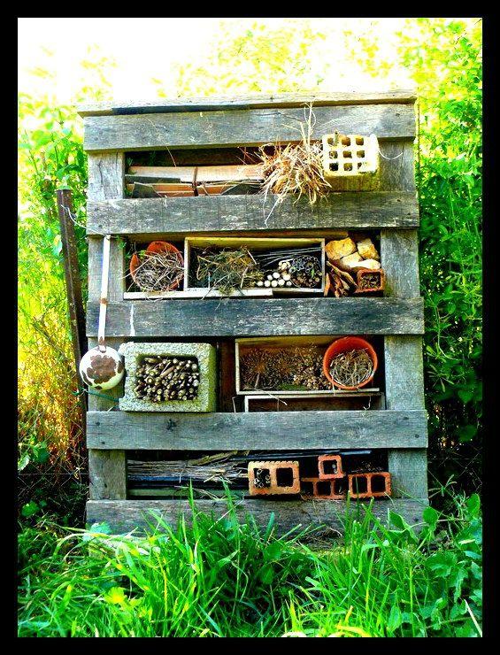 hotel insectes gardening pinterest. Black Bedroom Furniture Sets. Home Design Ideas