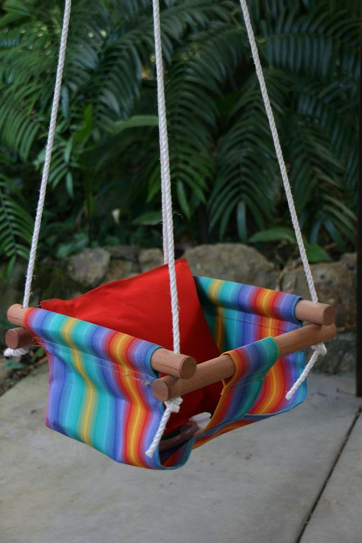 Pin by jamie dafoe weber on diy furniture and home decor for Diy kids swing