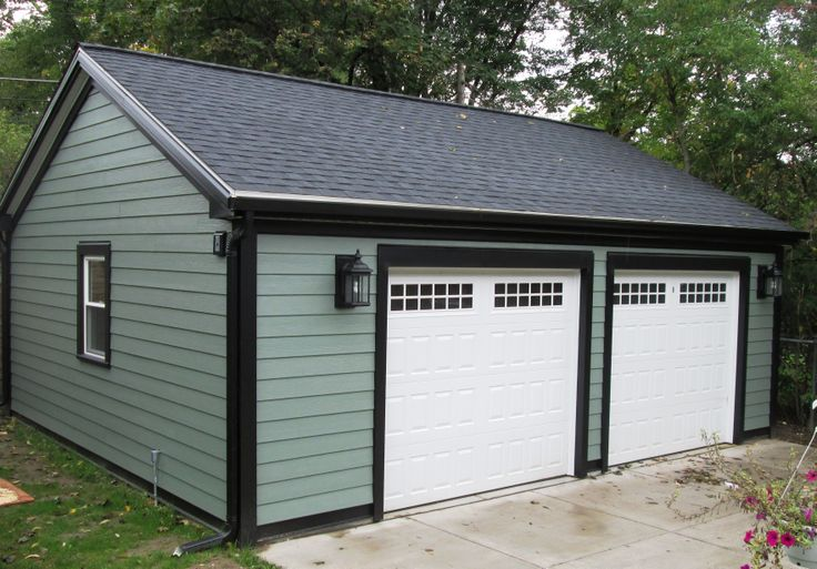 smart placement free standing garages ideas house plans