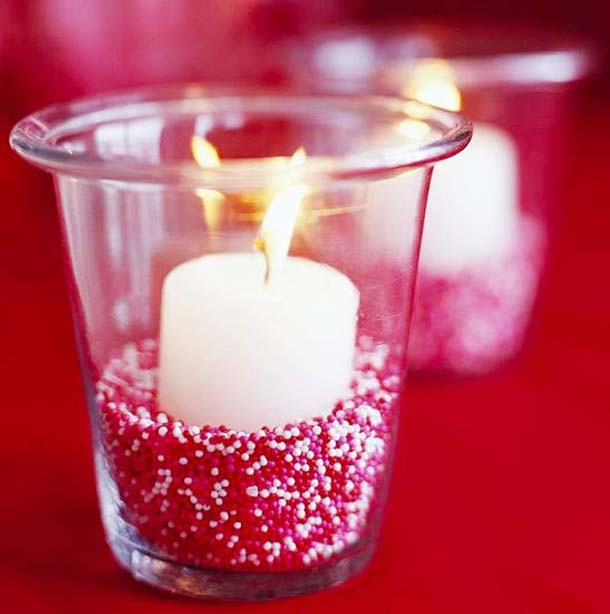candles for valentine day