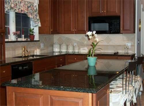 backsplash with uba tuba granite kitchen pinterest