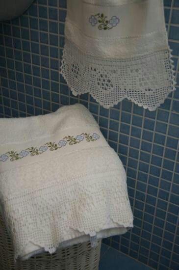 Juegos De Baño A Crochet:Juegos de baño en crochet