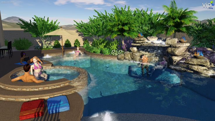 Pin by raymond medlin on 3d landscape and pool design for Pool design jobs
