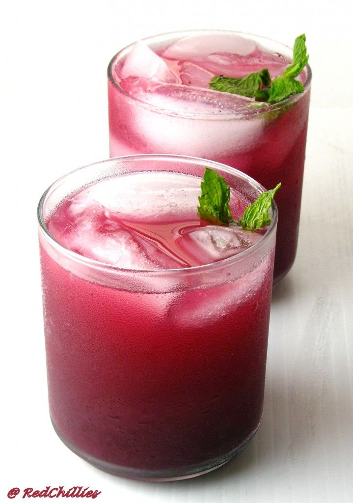 Blueberry Lemonade ~ | It's SUPER Fooood! | Pinterest