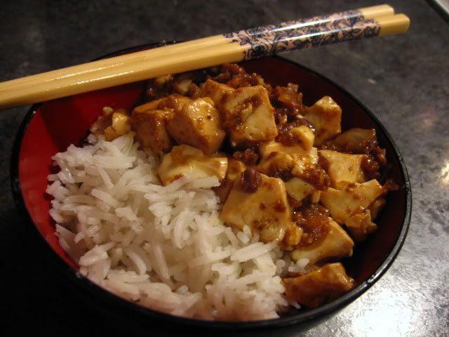 Vegan Mapo Dofu. I miss China >_ | Bon Appetit Vegan | Pinterest