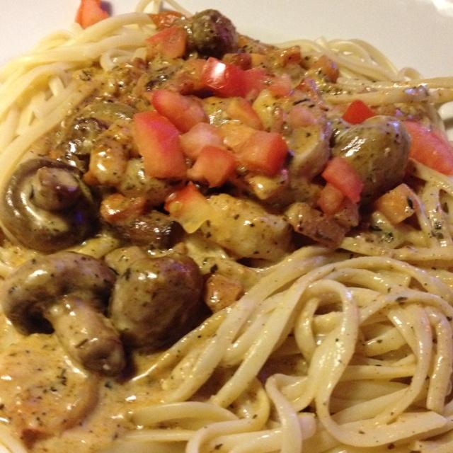 shrimp amp mushroom pasta linguine with cajun shrimp button mushrooms ...