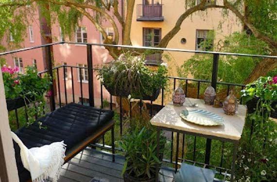 Ideas fabulosas para terrazas peque as decoraci n - Ideas para terrazas pequenas ...