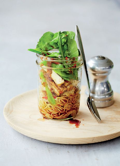 Soba Noodles with Tofu, Ginger and Sugar Snaps recipe: World's Best ...