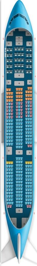 Klm 777 200 Seat Map Airline Seating Maps Pinterest