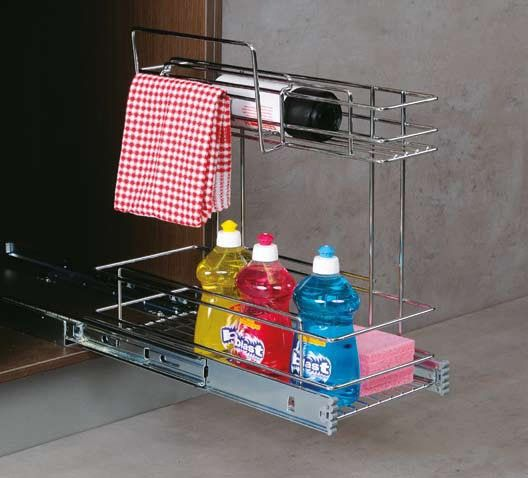 Pin by dia on trailer storage ideas pinterest for Caravan kitchen storage ideas