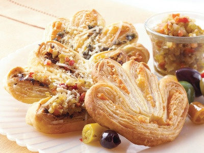 Savory Cheese Palmiers | Cheese | Pinterest