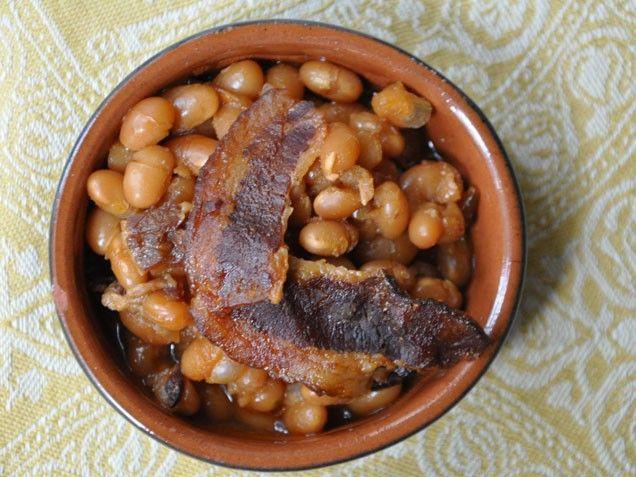 Maple Bacon Baked Beans   Recipes   Pinterest