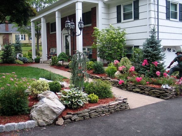 French country garden design ideas landscaping ideas for Landscaping ideas and designs