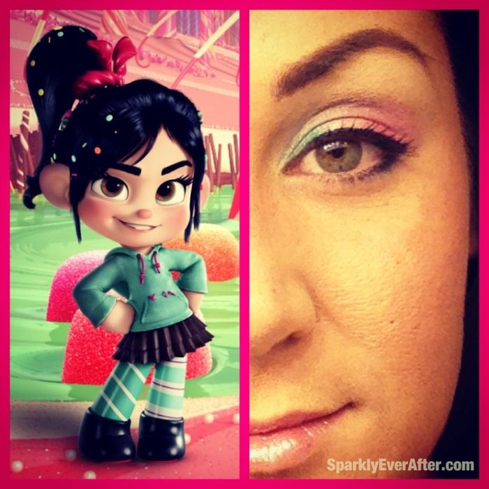 Vanellope Inspired Makeup   Halloween maybes   Pinterest