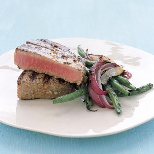 Martha Stewart Grilled Tuna Steaks With Japanese Marinade Recipe ...