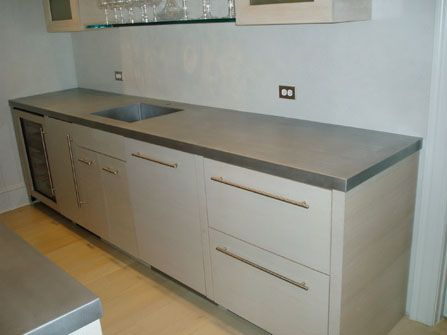 Zinc Countertop Furniture Pinterest