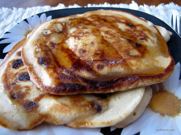 Whole Wheat Chocolate Chip Pancakes- this one seems a lot healthier ...