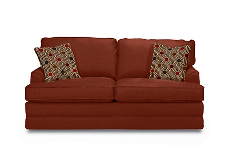 Lazy boy 39 s daphne supreme comfort queen sleeper sofa for our guest sewing office room we 39 re Lazy boy sleeper loveseat