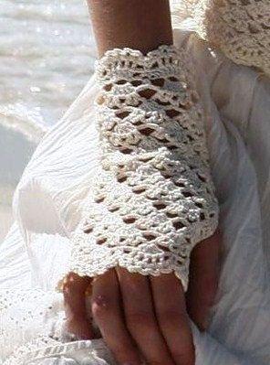 fingerless crochet glove pattern on Etsy, a global