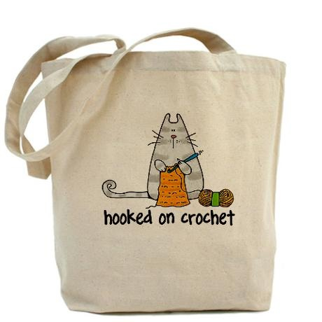 Hooked on crochet II Tote Bag on