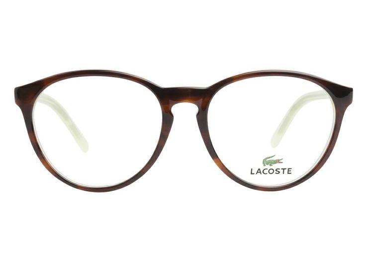 Glasses Frames With Keyhole Bridge : Lacoste L2648 220 Havana Green