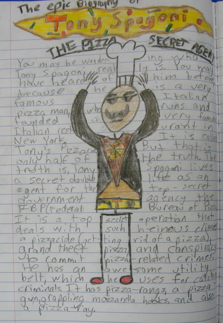 "My 7th graders were analyzing the epistolary story ""Ordeal by Cheque,"" (http://corbettharrison.com/documents/OrdealbyCheque.pdf) and 8th grader Patrick was intrigued by my essential question still on the whiteboard: ""Who is Tony Spagoni?""  Without evening knowing the story, he created this funny little one-page tribute that used Mr. Stick, so he earned a ""Mr. Stick of the Week"" award.  Thanks for always making me laugh, Patrick!  Mr. Stick resources:  http://corbettharrison.com/Mr_Stick.html"