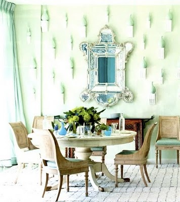 Mint Green Dining Room Color Pick Mint Green Pinterest