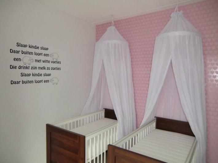 Babykamer Behang Gamma : Tweelingkamer twins room I Want Twins ...