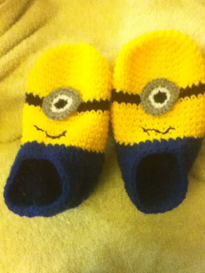 crochet minion slippers Car Tuning