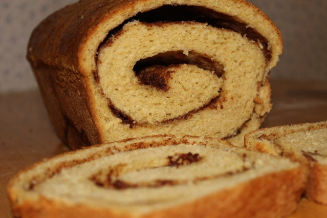 Cinnamon Swirl Bread (with honey and whole wheat)