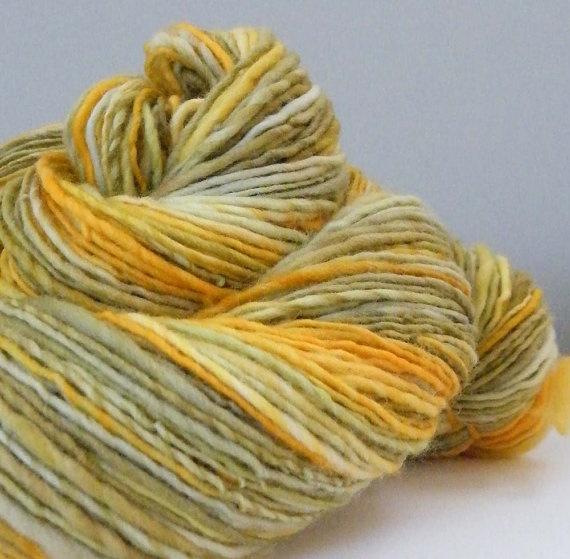 Handspun Yarn : honeycomb handspun yarn [ontheround] Handspun Pinterest