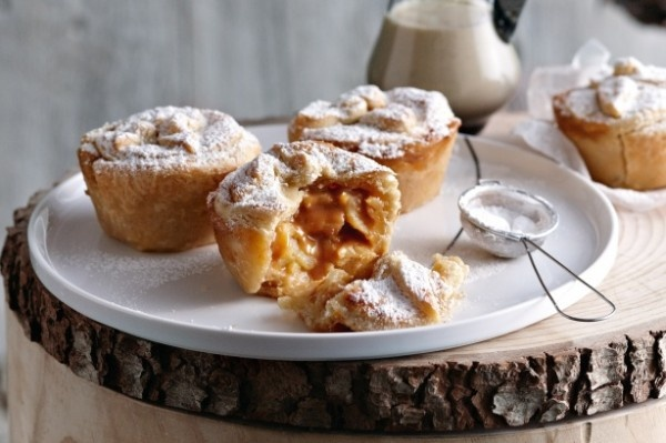 Toffee Apple Pie with Dulce de Leche and Custard- so many yummy ...