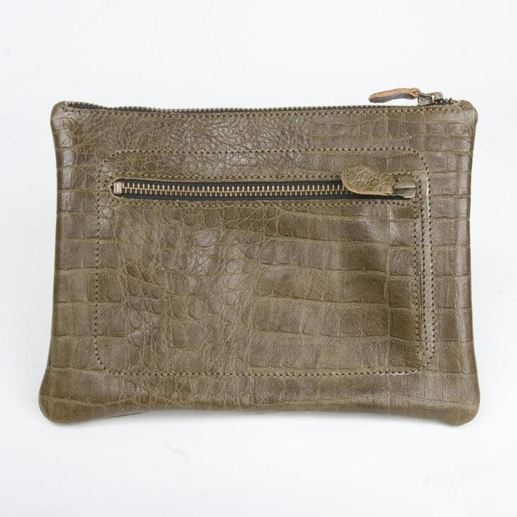 etta leather pouch