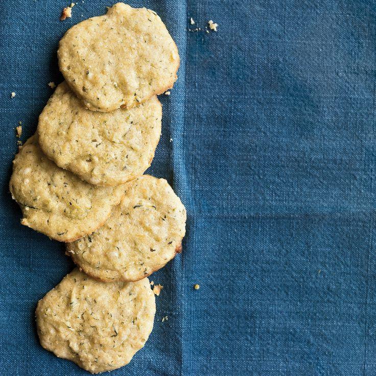 Lemon-Zucchini Cornmeal Cookies | Recipe