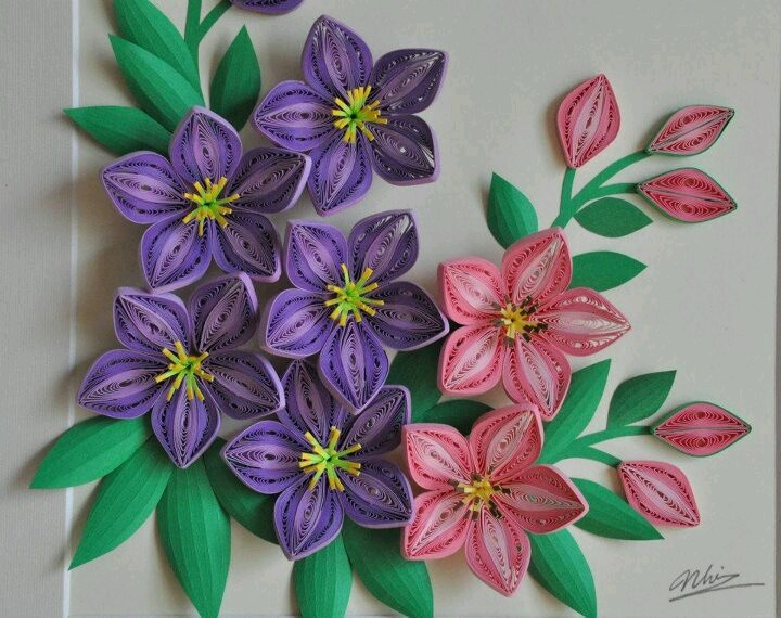 How to make flower of quilling paper how to make paper quilled flowers beautiful quilling pinterest mightylinksfo