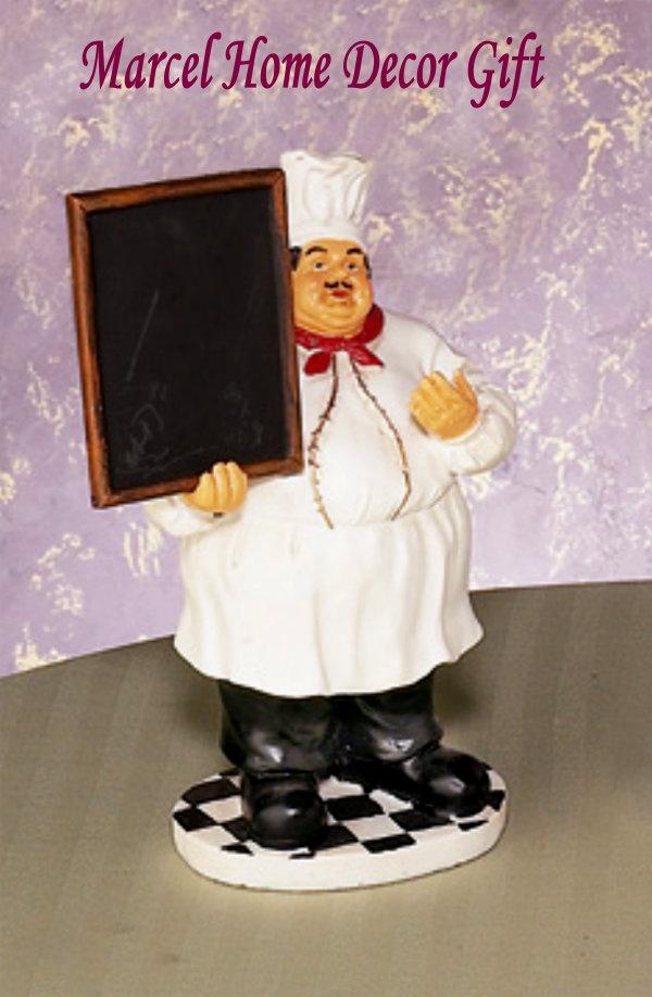 bistro fat chef menu board kitchen decor cook 39 s in the